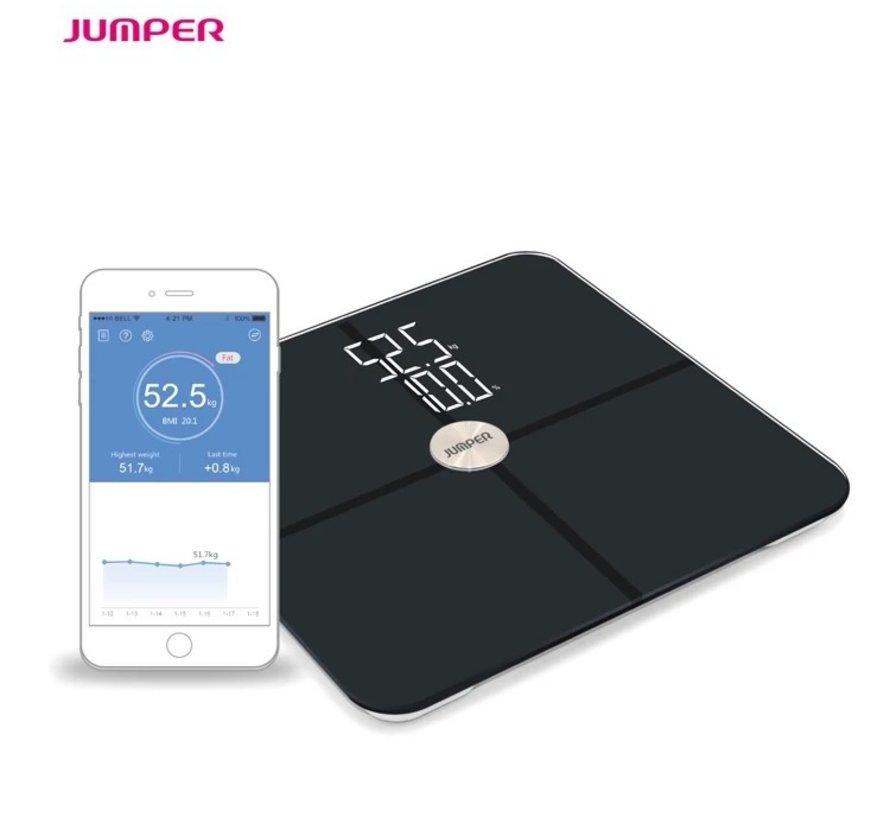 Jumper Digitale lichaamsweegschaal met bluetooth en BMI (per stuk)