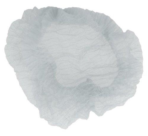 DispoDeals Haarnetje Wit - M (50cm) - 100 stuks -