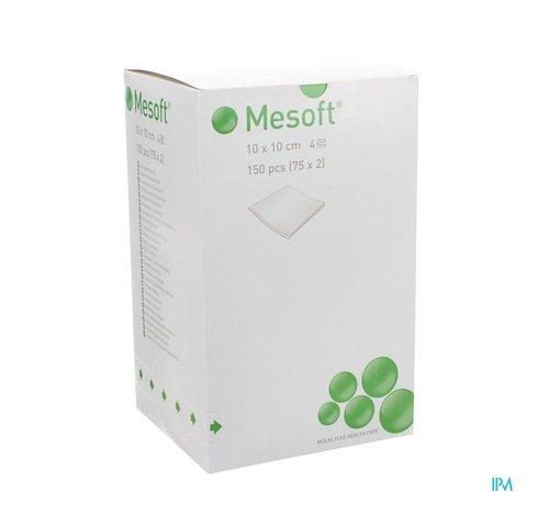 Mepilex Mesoft Kompres Steriel 4l 10x10cm (75x2 stuks)