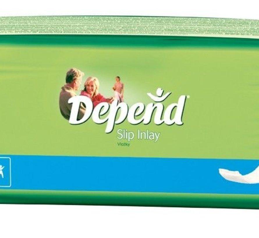 Depend Slip Inlay (30 stuks)