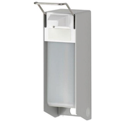 DispoDeals Universele wand/muur dispenser van medische kwaliteit inclusief lege 1000 ml fles (per stuk)