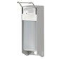 Universele wand/muur dispenser van medische kwaliteit inclusief lege 1000 ml fles (per stuk)
