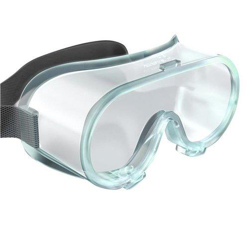 DispoDeals Medical goggles/veiligheidsbrillen (vijf stuks)