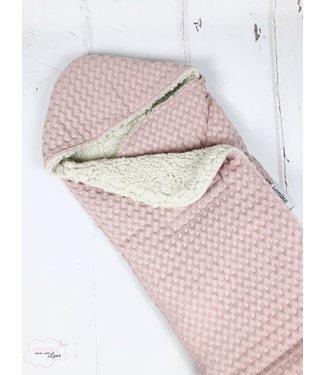Maxi Cosi Blanket Nude Large Waffle - Ecru Teddy