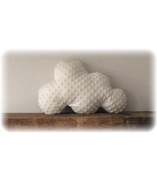 Cloud Pillow Offwhite Minky