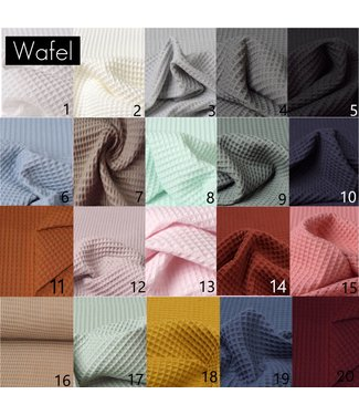 Waffle Fabric Samples