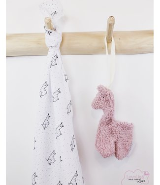 Swaddle Alpaca White