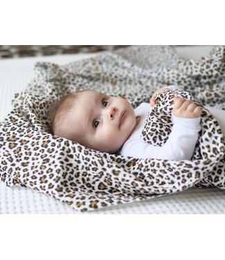 Hydrofieldoek/Swaddle Leopard