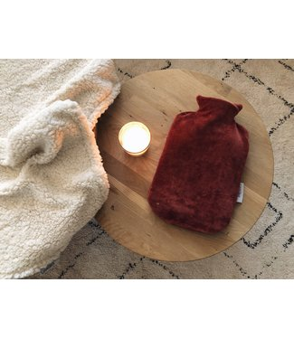 Hot Water Bottle Cover Terra Velvet