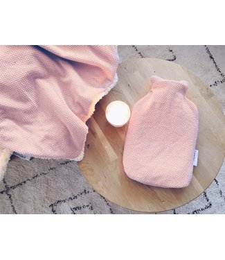 Hot Water Bottle Cover Oldpink Waffle Bebe