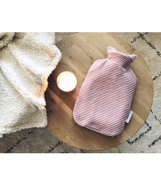 Hot Water Bottle Cover Oldpink Corduroy