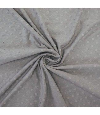 Cotton Minky Grey