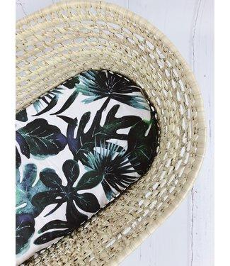 Spannbetttücher Palm Blattern