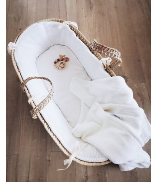 Mozes Mand Bekleding Offwhite Knit