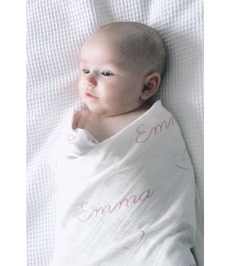 Muslin Blanket with name