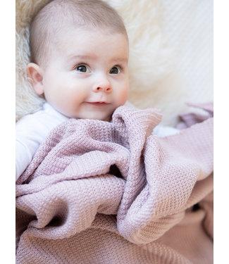 Blanket Oldpink Knit