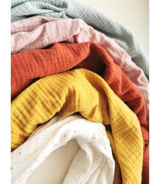 Hydrophiles Tücher/Wickeltuch Uni Farbe