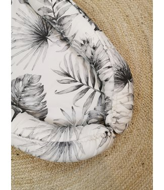 Limited Edtion- Babynest Palm Leaves Grau