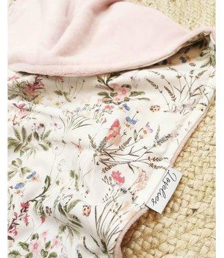 Blanket Wild Flowers & Oldpink Wellness Fleece