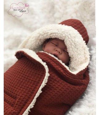 Maxi Cosi Blanket Terra Waffle & Ecru Teddy