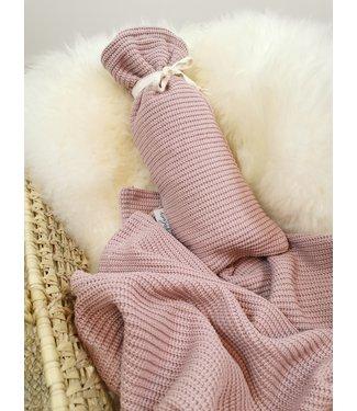 Werftasche Altrosa Knit
