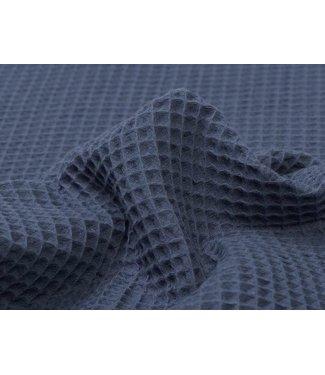 Jeansblau Waffel