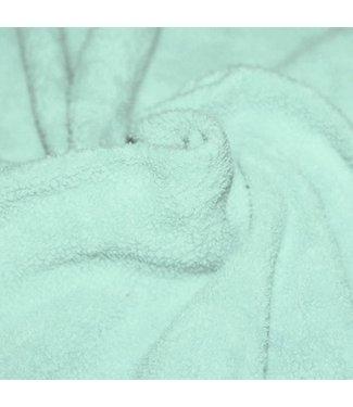 Mint Sherpa Katoen (fleece)