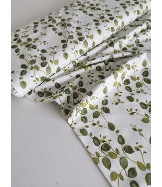 Green Leaves Tricot