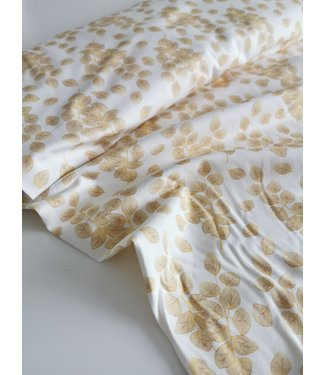 Gold Leaves Tricot