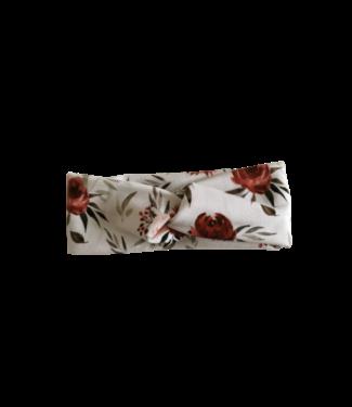 Twist Headband Roses