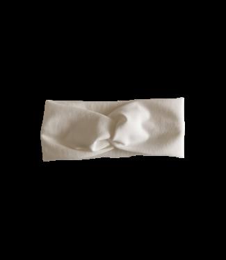 Twist Haarband Uni Offwhite