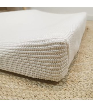 Changing Pad Cover Offwhite Knit