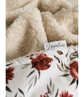Blanket Roses & Ecru Teddy