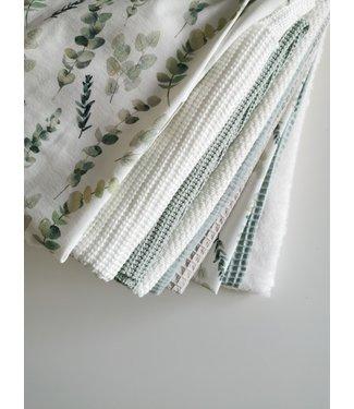 Scrap Fabric Package - Green