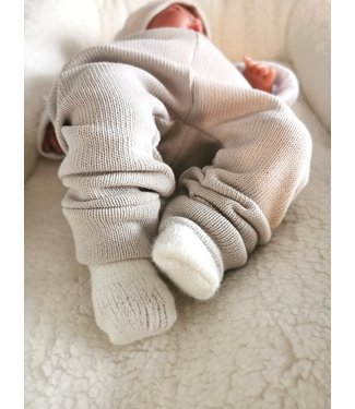 Pants Light Knit Beige