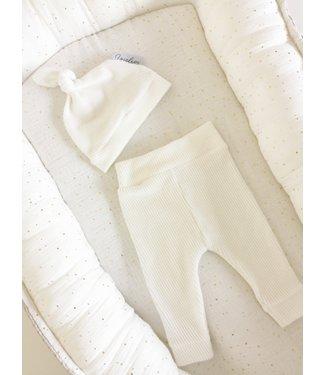 Pants Soft Rib Offwhite