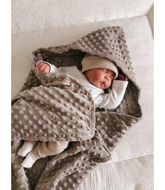 Wrap Blanket Brown Minky