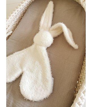 Rabbit Stuffed Animal Fluffy Offwhite