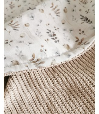 Decke Sand Knit & Nature Musselin