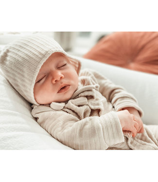 Witlof for kids Baby Hat Corduroy Sand