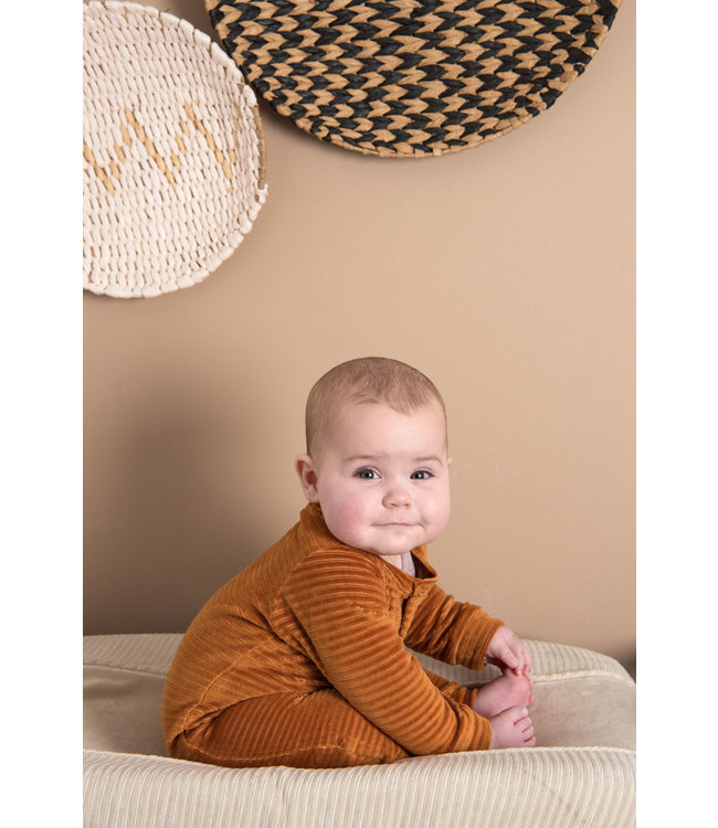 Witlof for kids Changing Pad Cover Corduroy Sand