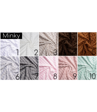 Minky Fabric Samples