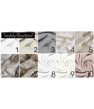Teddy & Terrycloth Fabric Samples