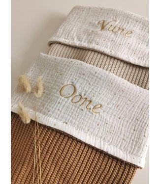 Personalisierte Decke Musselin/Knit