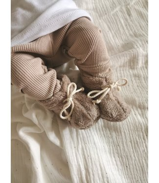 Bambus Schuhe Braun