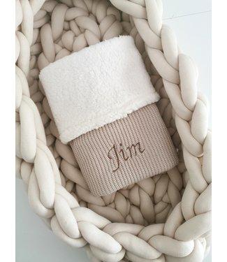 Gepersonaliseerde Deken Knit/Teddy
