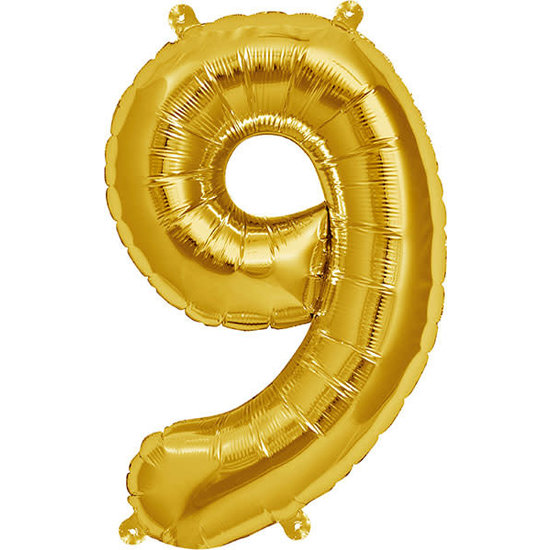 Northstar Ballon - Figuren - Gold - 40 cm - Northstar - 9