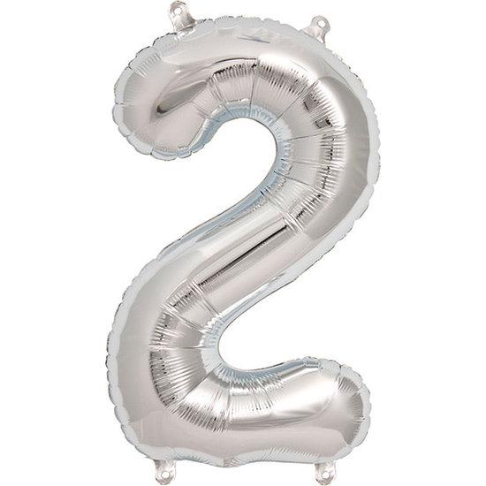 Northstar Ballon - Figuren - Silber - 40 cm - Northstar - 2