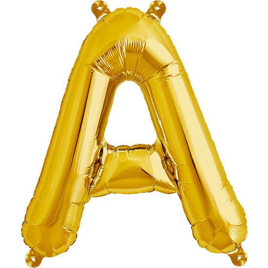 Northstar Ballon - letters - goud - 40 cm - Northstar - A