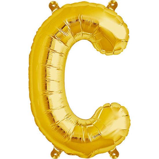 Northstar Ballon - letters - goud - 40 cm - Northstar - C